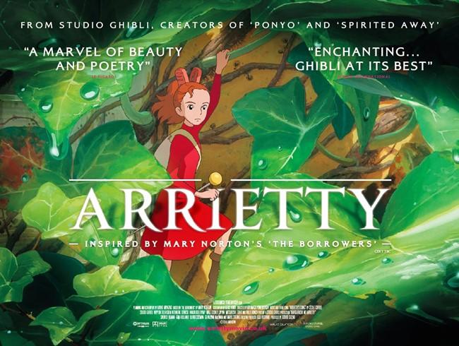 [JFF] Arrietty 借りぐらしのアリエッティ (2010) - Japan