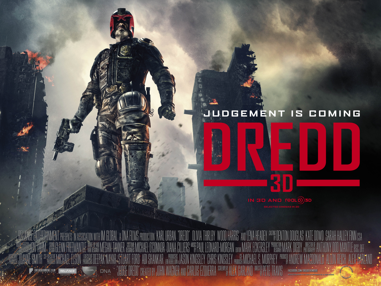 Dredd 3D 新特警判官3D (2012) – United Kingdom / South Africa