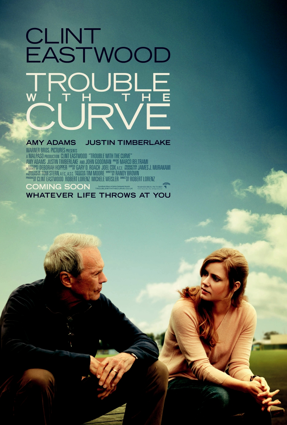 Trouble with the Curve 人生決勝球 (2012) - USA