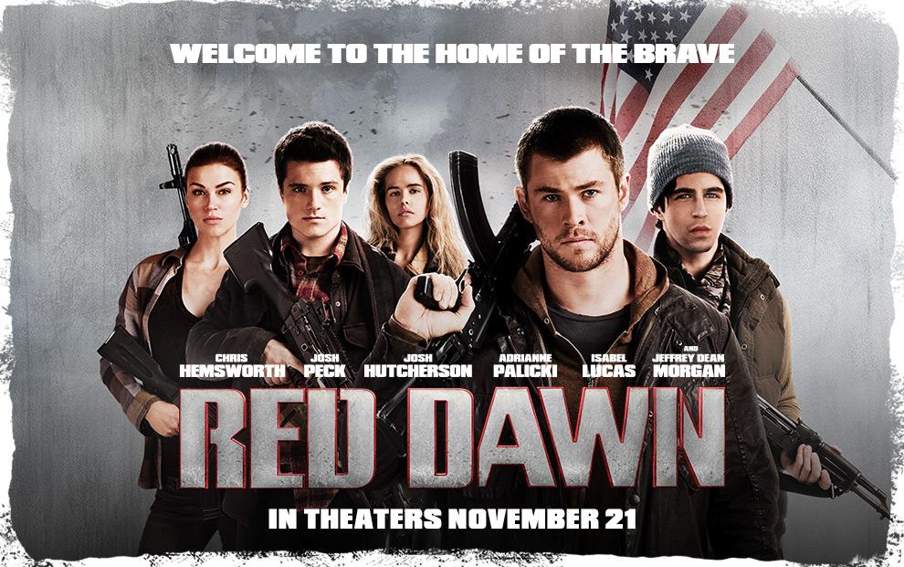 Red Dawn 红色黎明 (2012) - USA