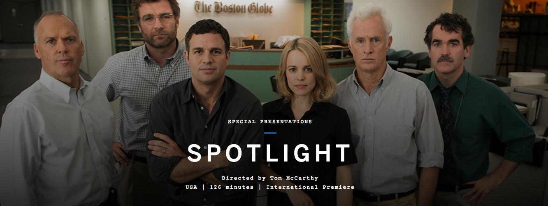 Venice Film Festival: Spotlight (2015) - United States